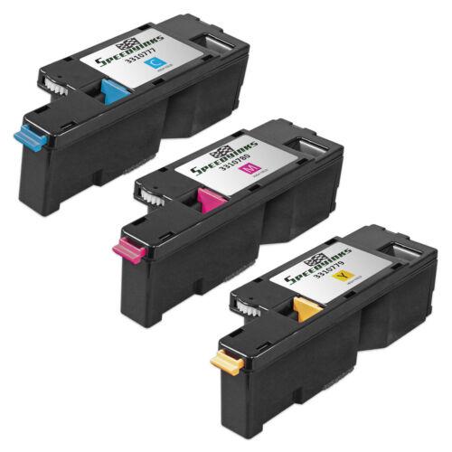 3pk set Color Printer Laser Toner Cartridge for Dell C1765nfw 1355cn 1355cnw