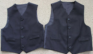 Details About Pinstripe Reversible Vest Suit 4 4t Wedding 1st Communion Photos Nwt