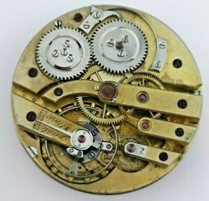 High-Grade-LeCoultre-Calendar-Complication-Wolfs-Teeth-Pocket-Watch-Movement