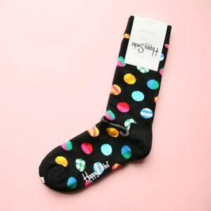 Happy Socks Beatles Rock Crew Socks Unisex Womens S M L 9-11 Shoe 5.5-9.5