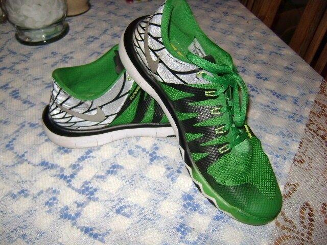 Nike 5.0 V6 AMP Black Free Trainer Sz 11 Green Black AMP 723939-307 52af6d