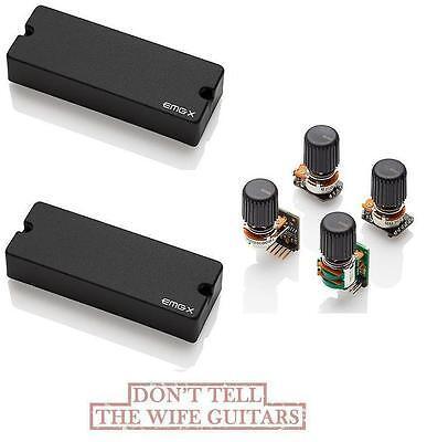 emg 40dcx active 5 string bass soapbar pickup set bts tone control system ebay. Black Bedroom Furniture Sets. Home Design Ideas