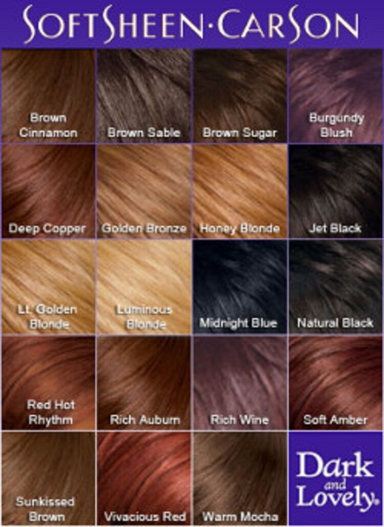 Dark And Lovely Permanent Fade Resist Hair Dye Many Colours Fast