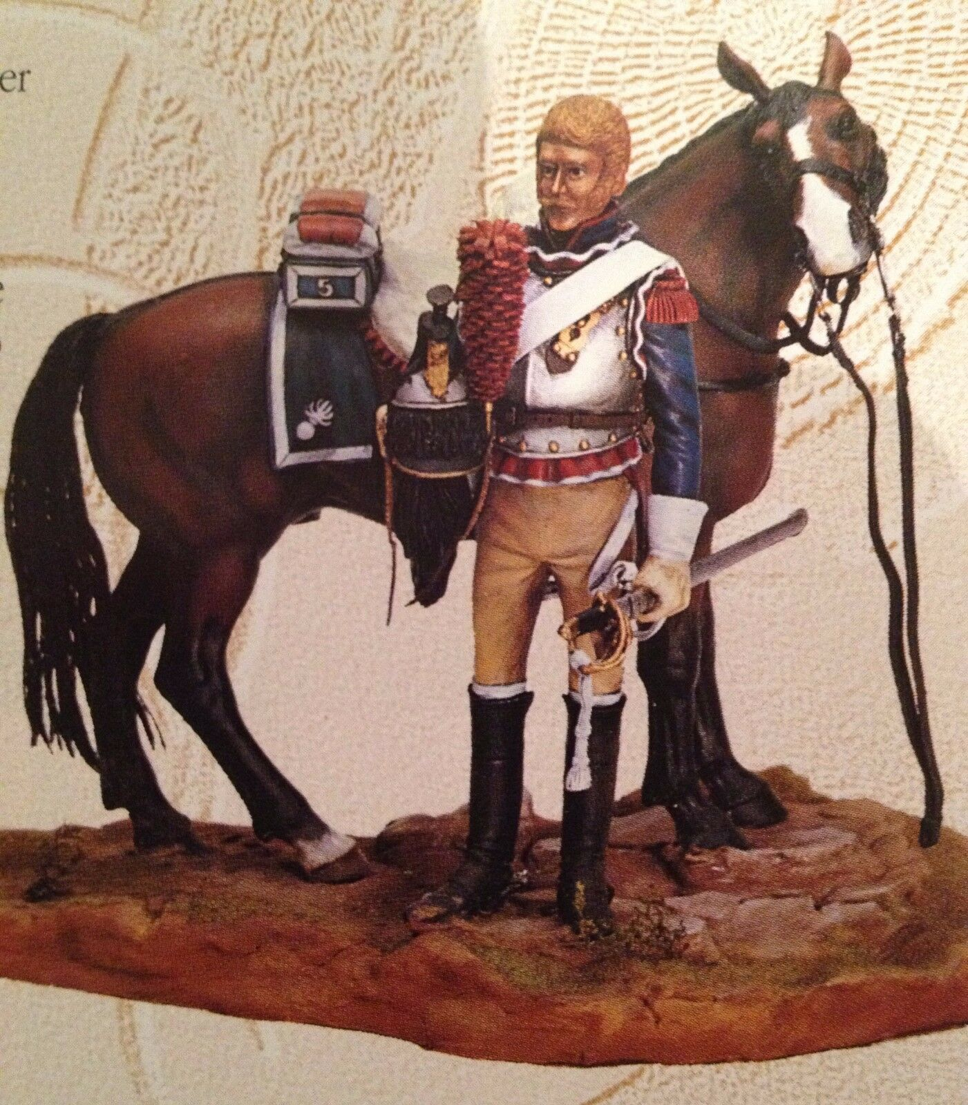Poste Militaire Dismounted Trooper Cuirassier 90mm (Napoleonic)