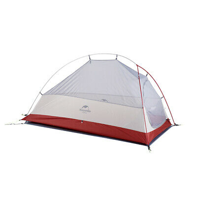 Naturehike Upgraded Cloud Up Zelt 1 Person 3 Saison Leichtes