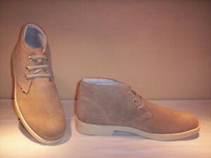 Effedue-scarpe-polacchini-scarponcini-casual-uomo-pelle-camoscio-beige-new-39-44
