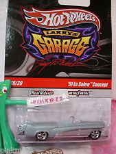 2010 #18 LARRY'S Garage ☆CHASE☆51 Le Sabre Concept☆lt Blue☆realriders☆Hot Wheels