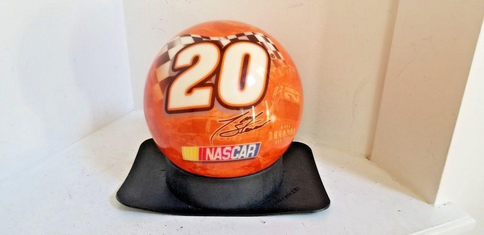 Vtg NASCAR TONY STEWART Viz A Ball BOWLING BALL-NEW 12.6 LBS New UNDRILLED NOS