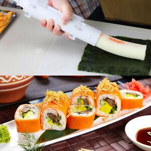 Sushi-Bazooka-Tool-Sushi-Roll-Maker-Kitchen-Gourmet-Cooking-Tube-amp-Molds-DIY