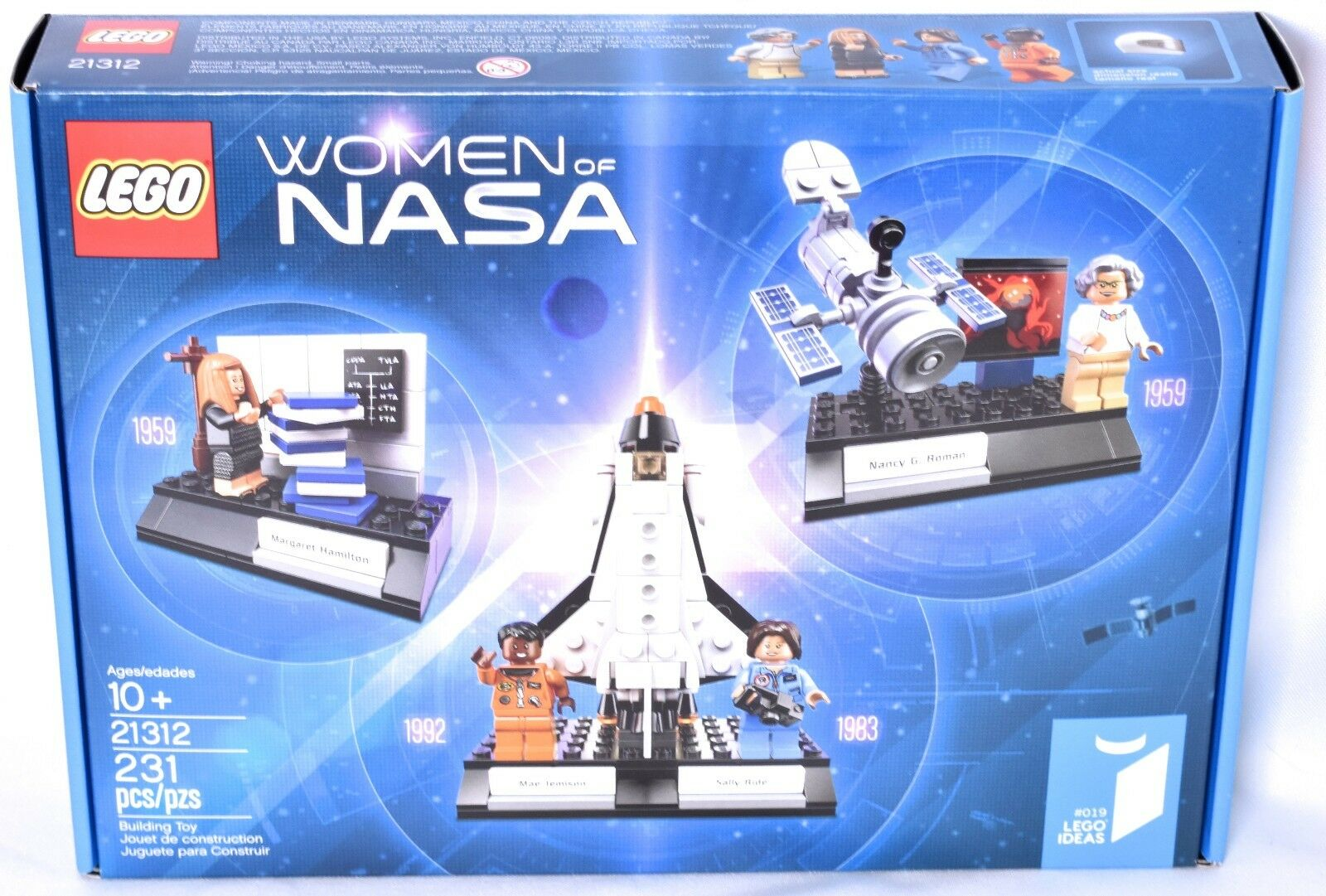LEGO Women of of of NASA Set 21312 (Nancy G. Roman, Mae Jemison, Sally Ride...)  NEW 8c1ac4