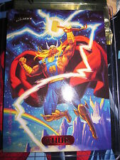 CARTE MARVEL MASTERPIECES GOLD FOIL SERIES 1994 N° 124 THOR MINT CARD (BASE)