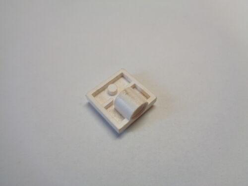 choose color LEGO Plaque Essieu 2X2 Plate Modified with Holes 2444