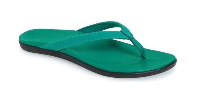Olukai Ho' Opio Si Gonfiano green   Sandalo Infradito Misure da women 5,8, 10