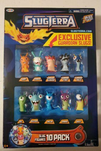 Exclusive Guardian Slug! Slugterra Slug Figures 10-Pack