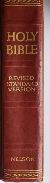 Vintage -Holy Bible Revised Standard Version 1952 Thomas Nelson & Sons New York
