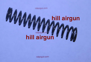Details about hill airgun 12 5 Hammer Spring For your Benjamin Marauder or  Armada