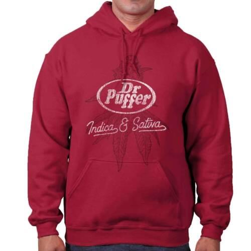 Dr Puffer Weed Marijuana Stoner Pot Graphic Hoodies Sweat Shirts Sweatshirts