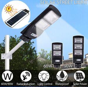 60-90W-Solar-Powered-LED-Street-Light-Radar-Indution-PIR-Motion-Sensor-Wall-Lamp