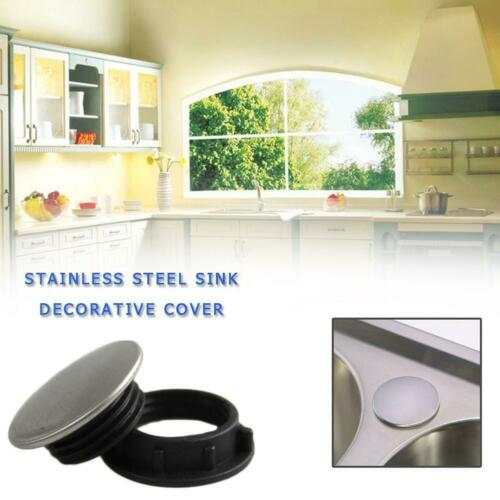 Stainless Steel Sink Decorative Cover Soap Dispenser Hole Cover Faucet Hole Plug