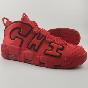 d1dab2b20ef7e Details about Nike Air More Uptempo CHI QS CHICAGO Men's Size 15 Red  AJ3138-600