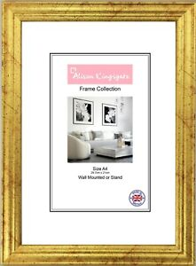 Gold Picture Frames Classic style Silver Photo Frame Poster Frame A1 A2 A3 A4 A5