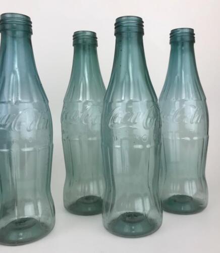 s Vtg 60s-70s COCA COLA MONSANTO Plastic 10oz COKE Bottle 8-pack Paper Carrier