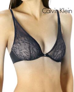 8452f07f24 Image is loading CALVIN-KLEIN-Seductive-Comfort-Lace-Plunge-Multiway-Bra-
