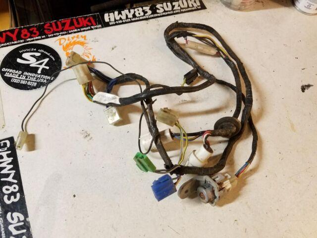 OEM Original Suzuki Samurai A/c Under Dash Wiring Harness on