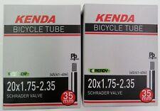 """2 x RANT 16/"""" BMX BICYCLE TUBES 16 x 1.75 1.85 1.95 2.0 2.1 2.25 2.35 NEW"""