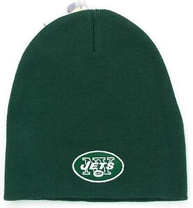 NFL Football New York Jets Green Beanie Knit Hat Toque Fan Gift  f62a8d6e526