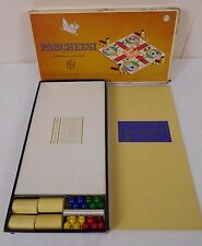 Vintage Parcheesi 1964 Gold Seal Edition - Family Board Game - Complete