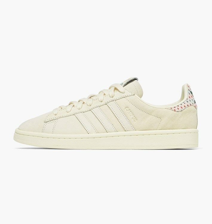 ADIDAS ORIGINALS CAMPUS - CREAM - B42000 - UK 10, 10.5