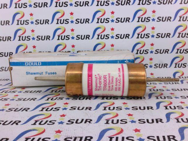 NSOP Ferraz Shawmut Gould Tri-onic TR600R Duel Element Time Delay Fuse 600A 250V