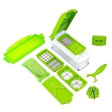 Kitchen Tool kit 12pcs Super Slicer Grater Vegetable Fruit Peeler Chopper Cutter