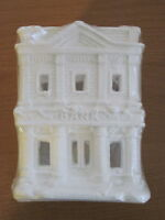 California Creations - Bank Se176 Holiday Christmas Village Unpainted