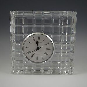 Image Is Loading Vtg Waterford Crystal Made In Ireland Blocks Cube