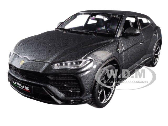 Lamborghini Urus Grey 1 24 Diecast Model Car By Maisto 31519 For