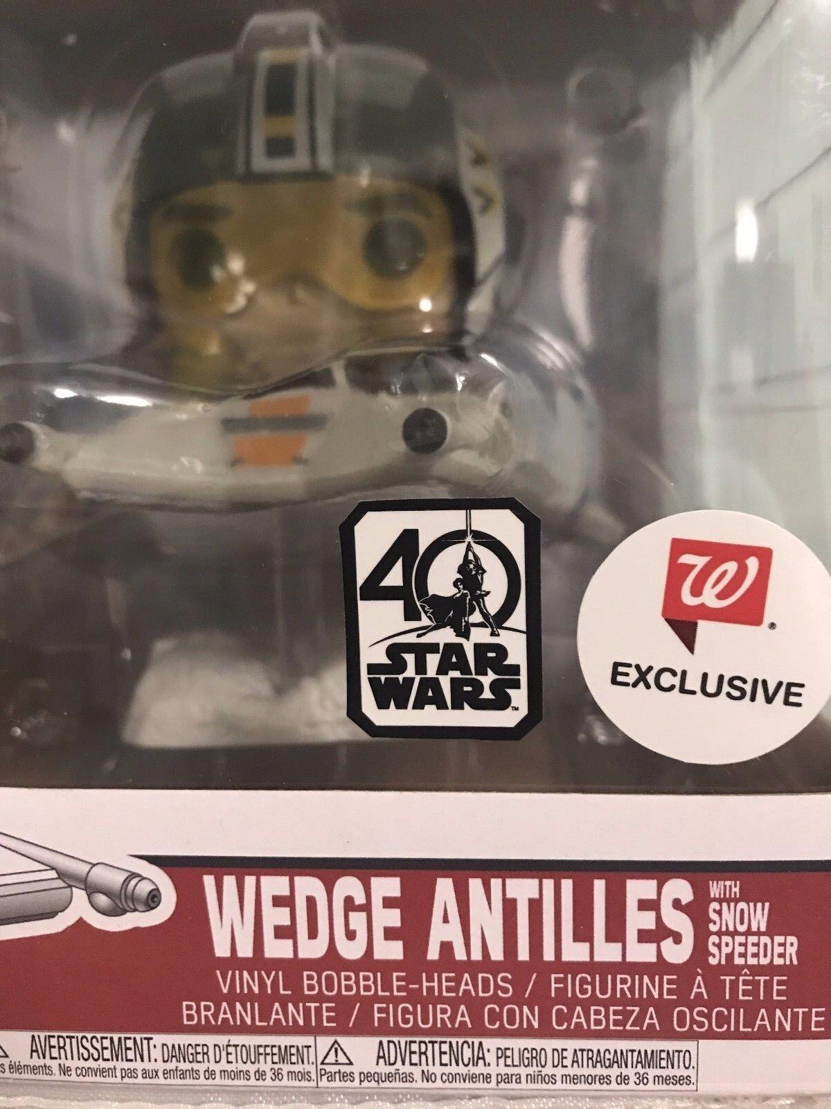 Funko Wedge Antilles Snow Speeder WalGrüns Exclusive Star Wars 40th Anniversary