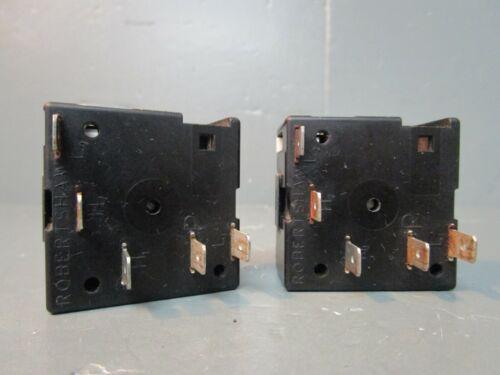 316021500  ASMN Frigidaire Electric Range Oven Infinite Switch 240V SET OF 2
