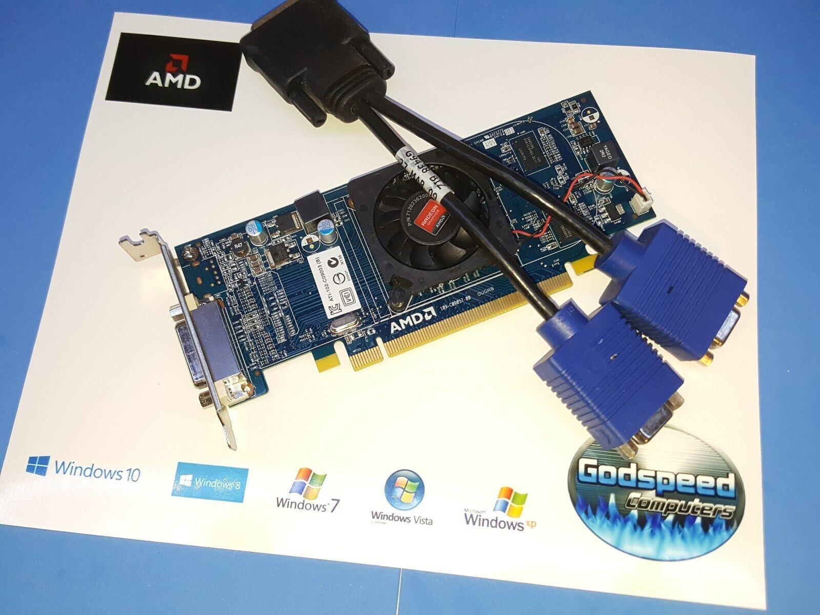 HP Pavilion s5503w s5510f s5510t s5510y Dual Display VGA Low Profile Video Card