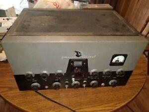 Johnson Viking Ii Ham Radio Transmitter In Working Condition Incudes Vfo Ebay