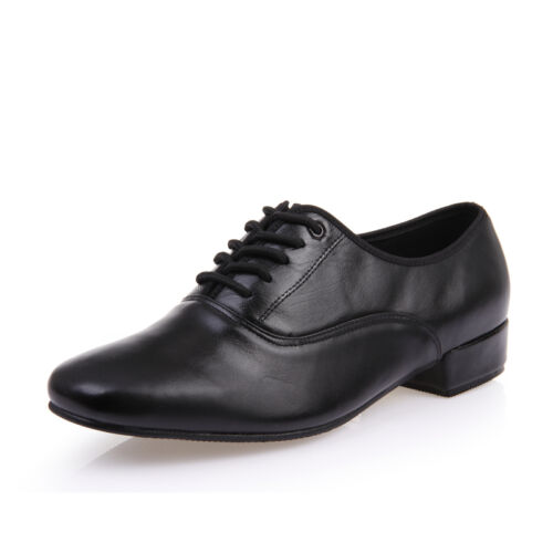 New Latin dance shoes male cowhide outdoor genuine leather ballroom modern shoes