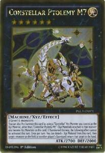 PGL3-EN066 Constellar Pleiades Gold Rare 1st edition Mint YuGiOh Card