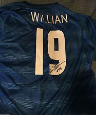 Brazil Willian Da Silva Autographed Signed Nike XXL Jersey COA New
