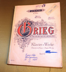 Grieg-Klavierwerke-Band-III-Klavier-Noten