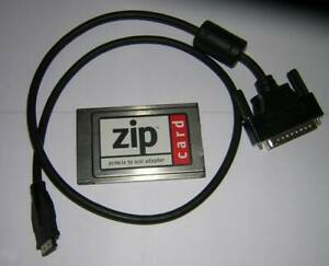 Iomega-Zip-SCSI-PCMCIA-Adapter-PC-Card-DB25-Cable