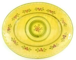 Williams-Sonoma-Ceramiche-Toscane-Large-Oval-19-034-x15-034-Platter-Hand-Painted-Italy