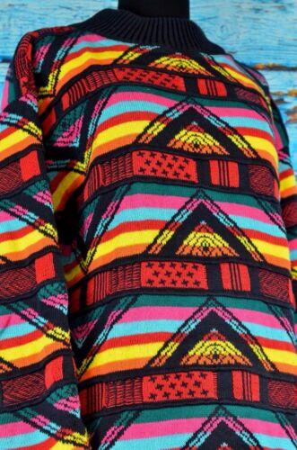 con da maglione a a motivo lavorato quadretti maglia donna Leoniak geometrico maglia a lavorato wqI8xEZ