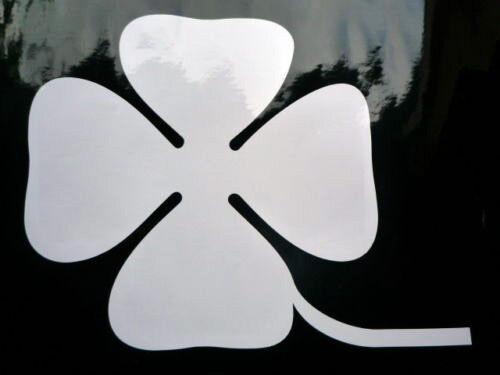 """ALFAS Quadrifoglio Cloverleaf Competition Racing Car STICKERS 8/"""" Pair Classic"""