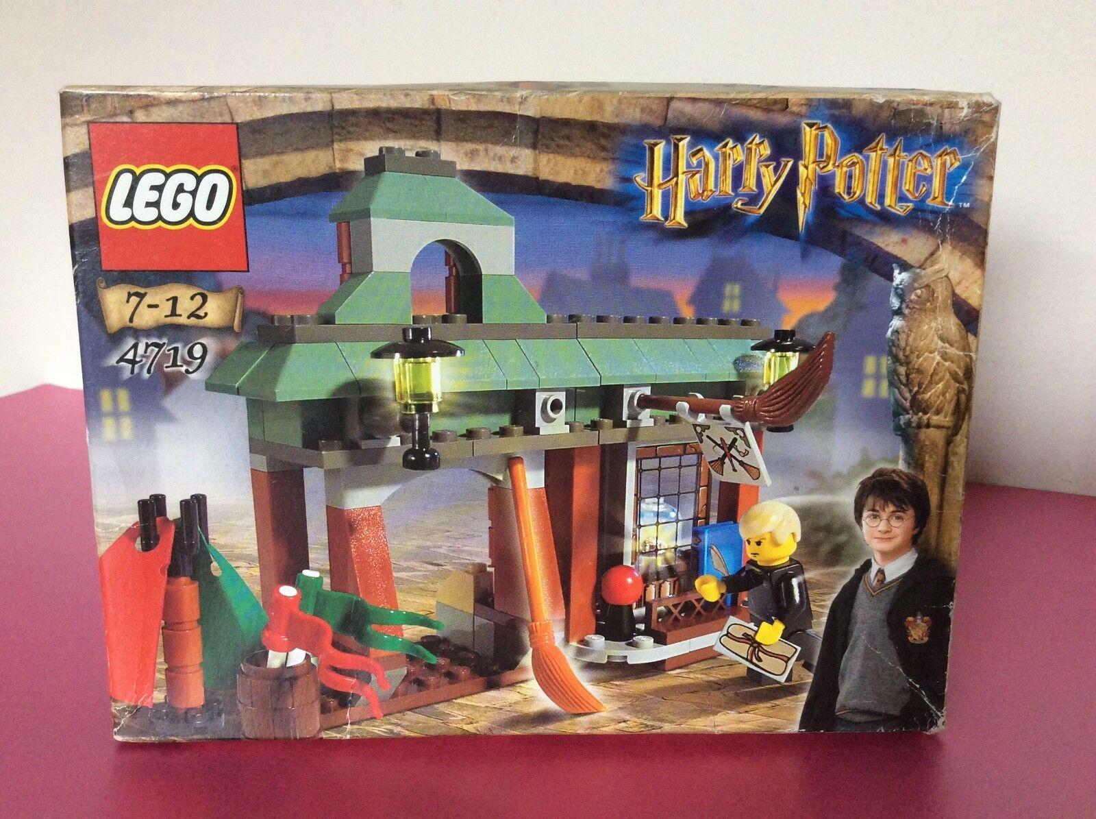 LEGO Harry Potter Quidditch forniture di qualità  4719 - Sigillato Nuovo di Zecca &